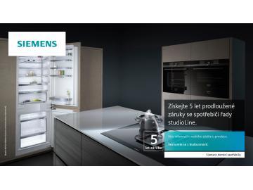 Prodloužená záruka Siemens StudioLine