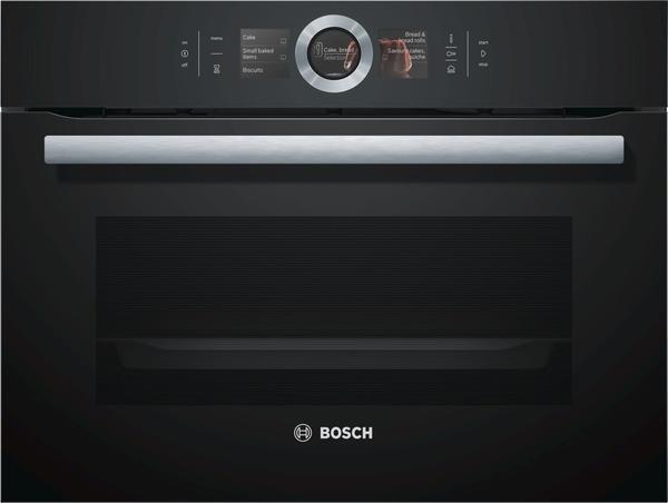 Kompaktní parní pečicí trouba Bosch CSG656RB1