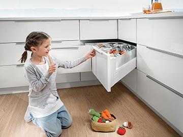 Kuchyňské spotřebiče blum